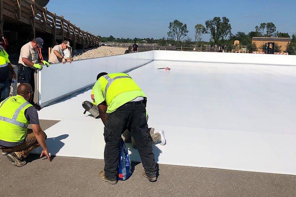 Glice Rink Installation