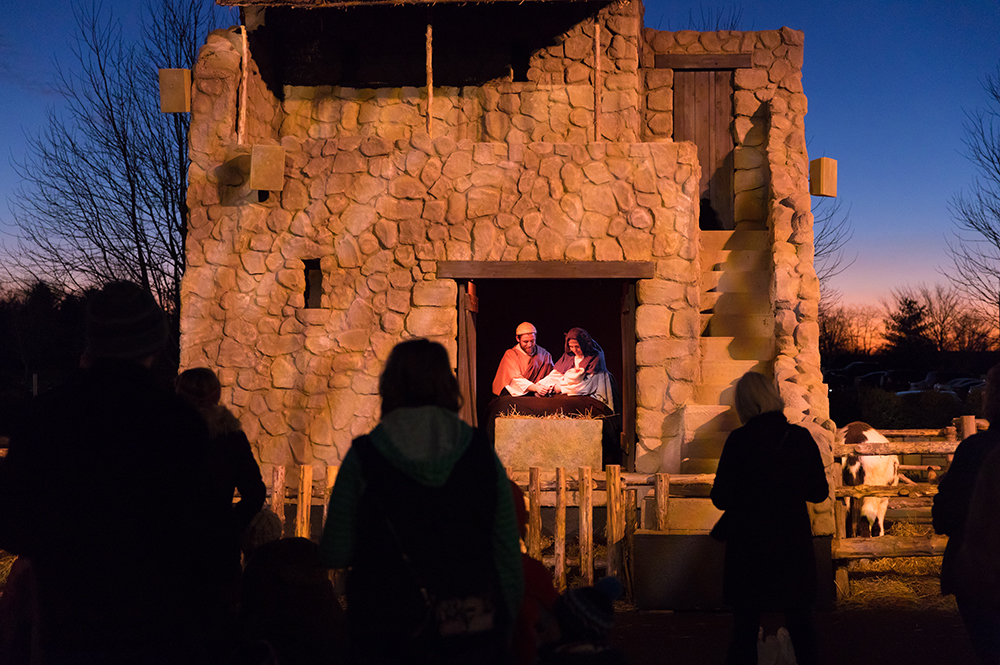 Live Nativity at ChristmasTown at the Museum