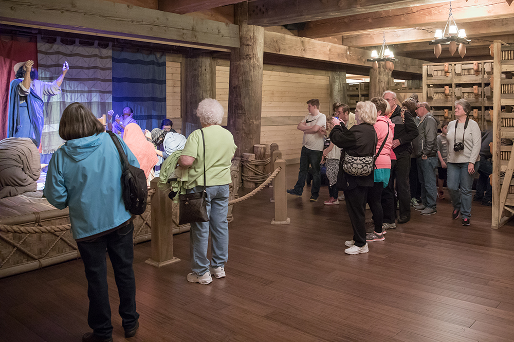 Guests Inside the Ark