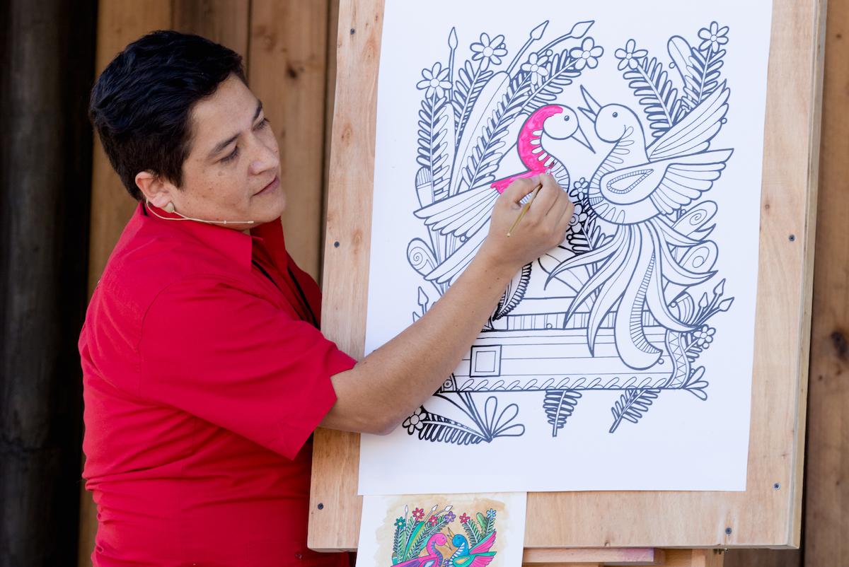 Oscar Nava Painting Workshop