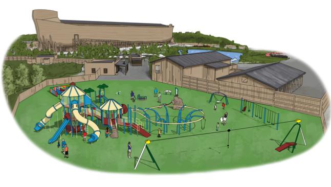 Ark Encounter Playground Plans