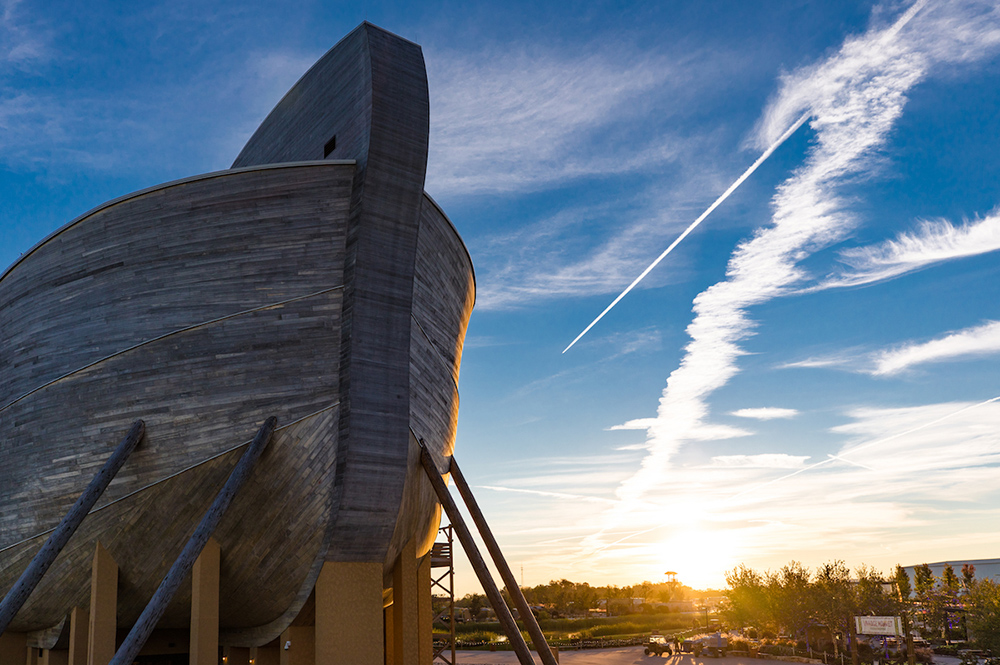 Ark Bow at Sunset