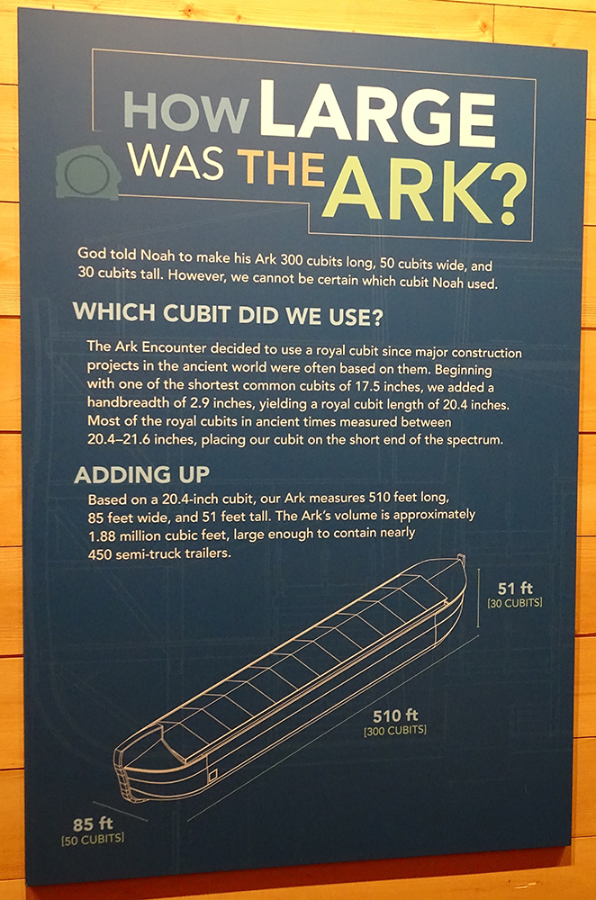 How Large Was the Ark?