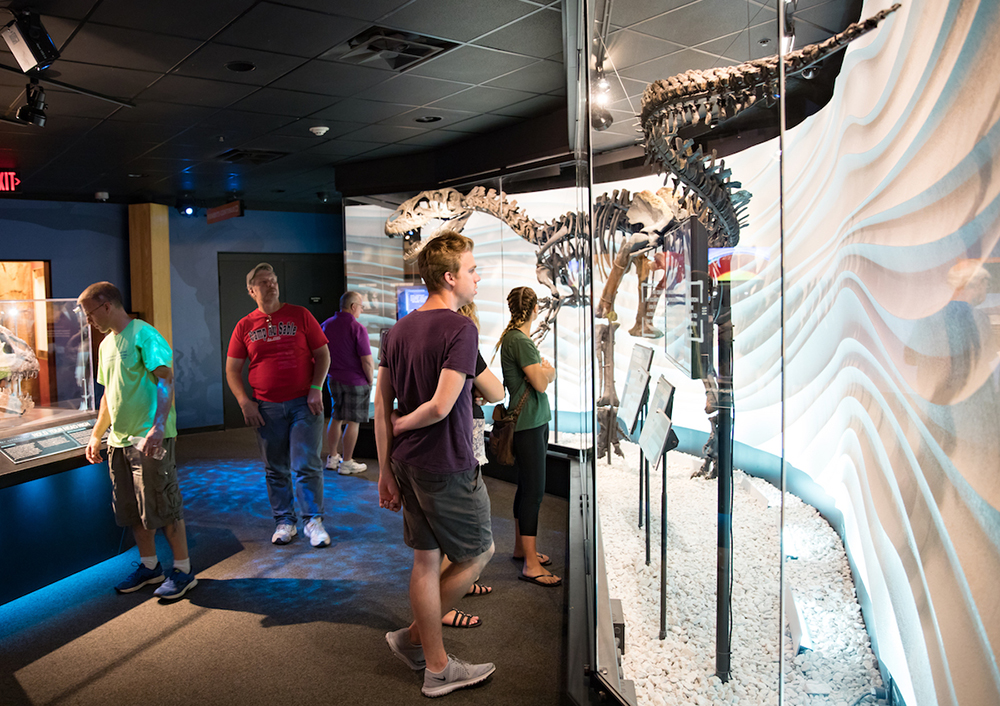 Guests at the Creation Museum