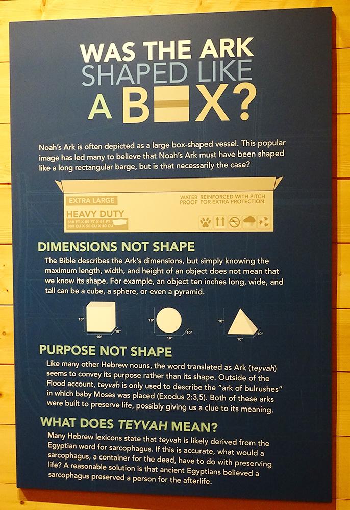 Was the Ark Shaped Like a Box?