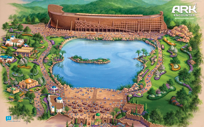 Early Ark Encounter Plan Illustrations