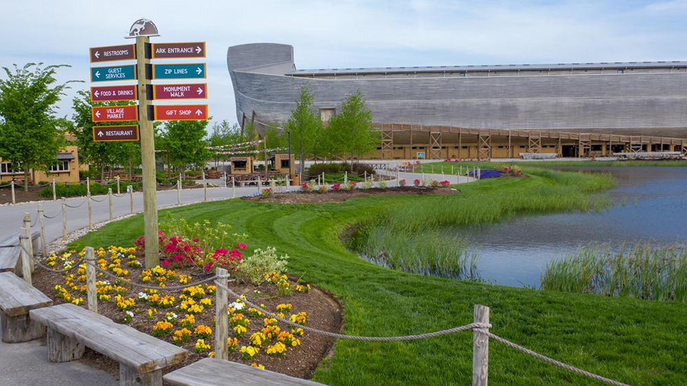 Ark Encounter with Signs