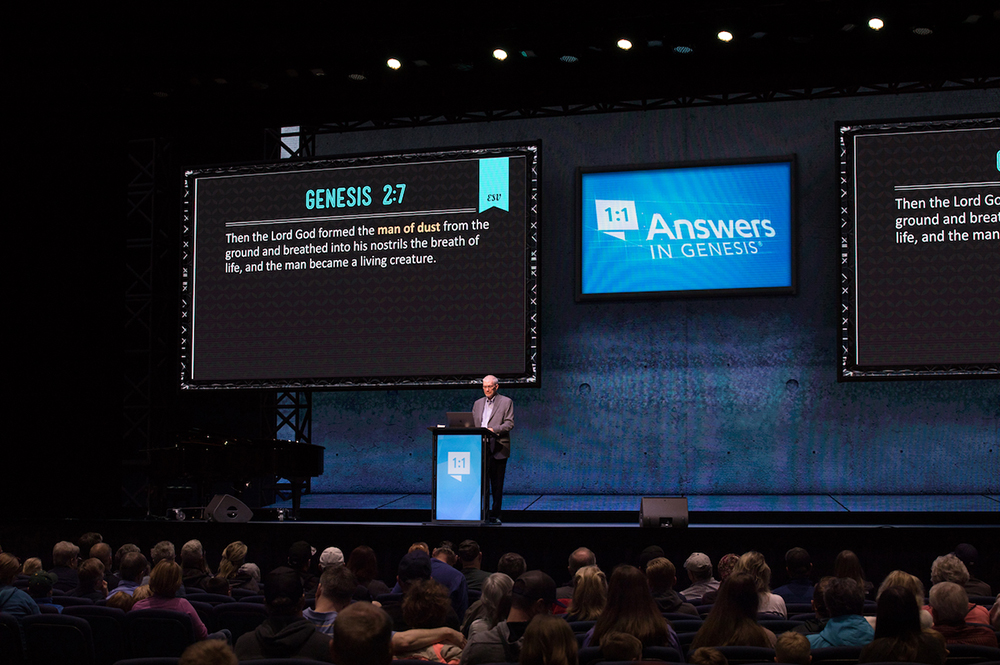 Ken Ham Speaking in the Answers Center
