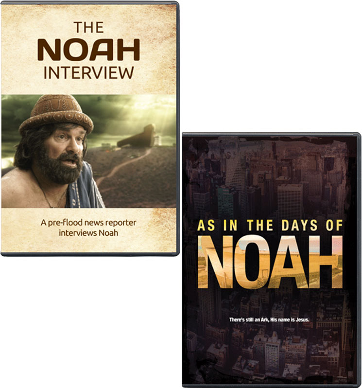 The Noah Interview and As In the Days of Noah