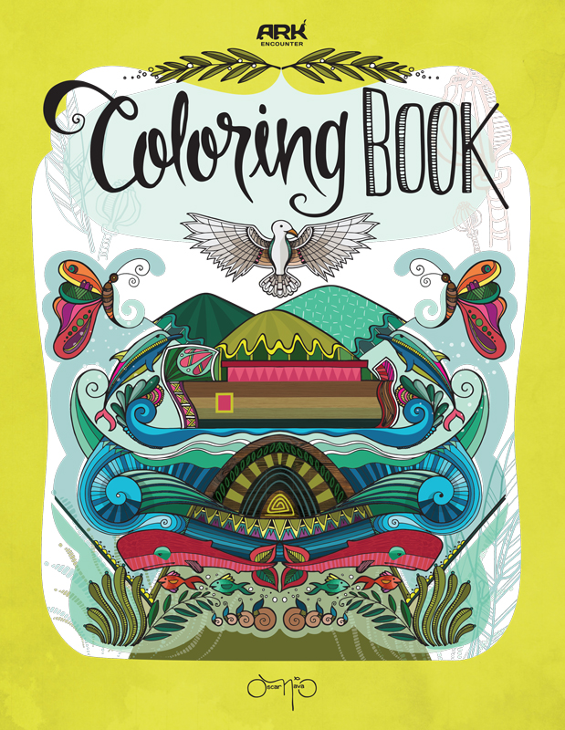 Oscar Nava's Coloring Book