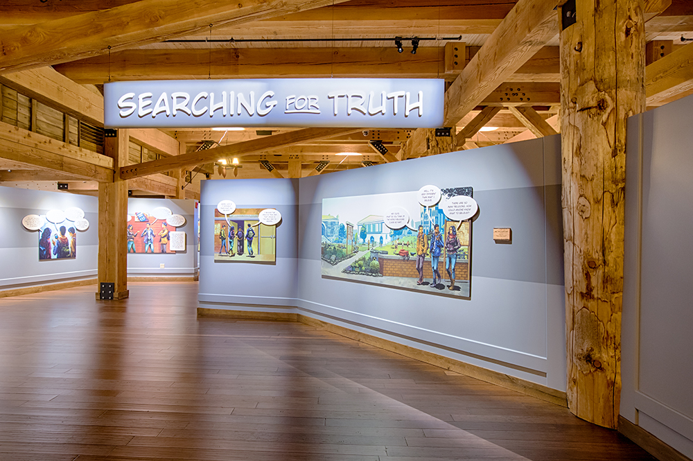 Searching for the Truth Exhibit at the Ark Encounter