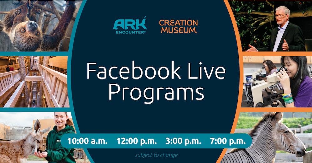 Facebook Live Programs