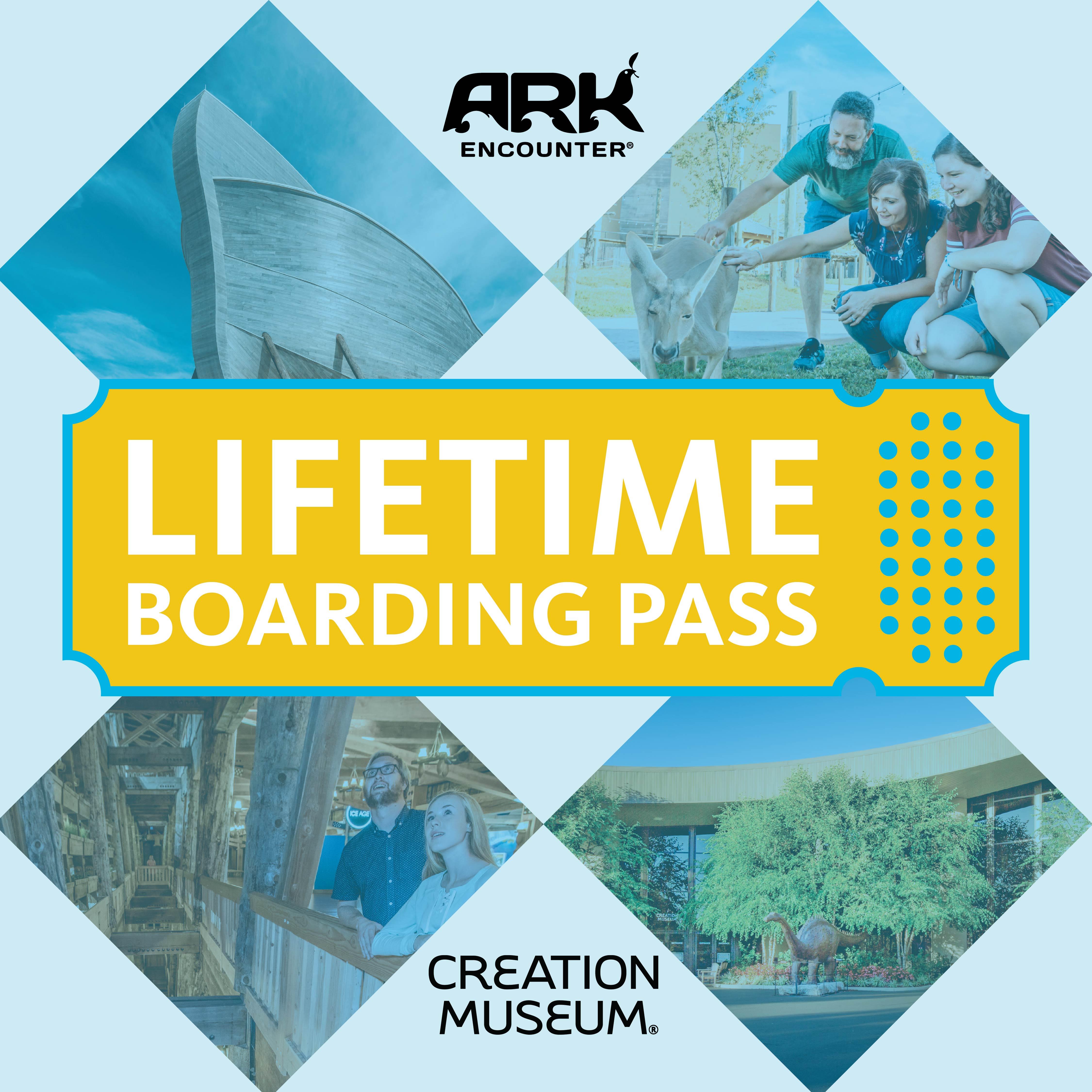 Ark Encounter Lifetime Boarding Passes