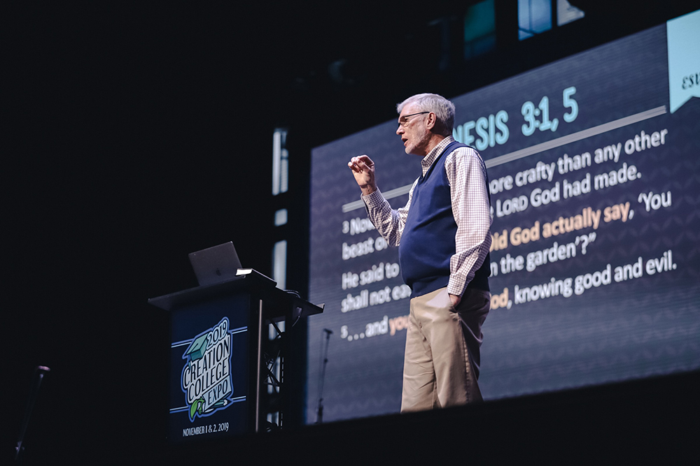 Ken Ham Speaking at the Creation College Expo