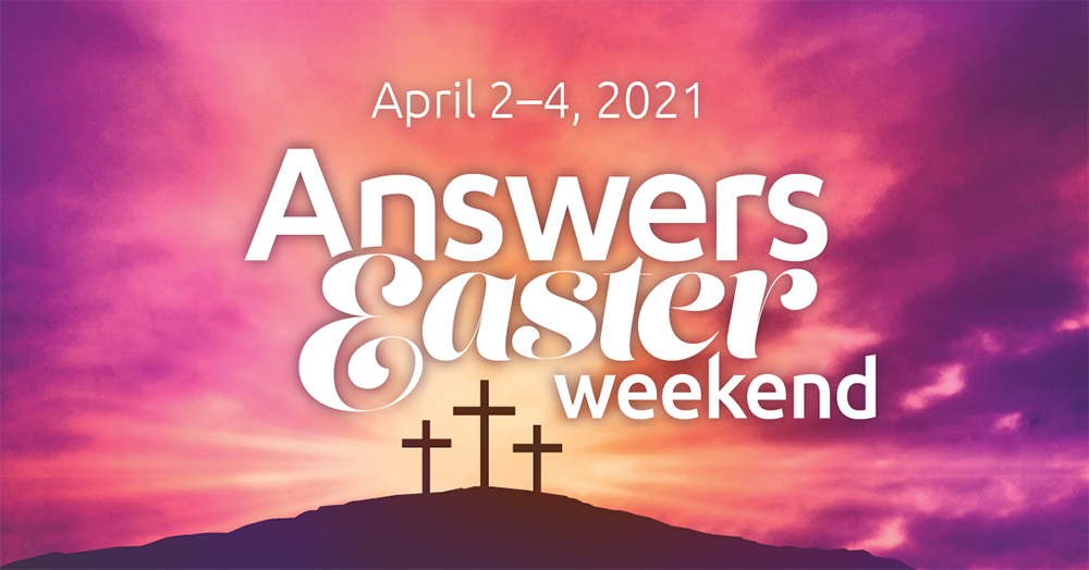 2021 Answers Easter Weekend