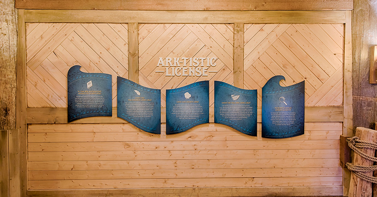 Ark-tistic License at the Ark Encounter