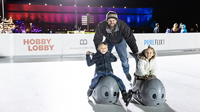 Take Your Turn on Our Glice® Rink During ChristmasTime at the Ark Encounter