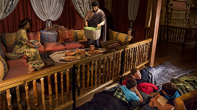 Experience an Overnight Adventure on the Ark