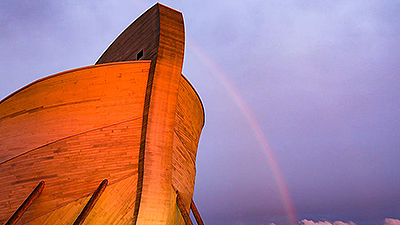 See the Ark in Different Weather Conditions