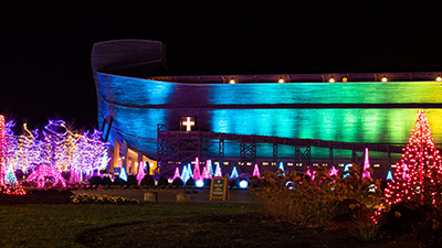 Wishing You a Merry Christmas from the Ark Encounter!