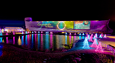Look How ChristmasTime Transformed the Ark!