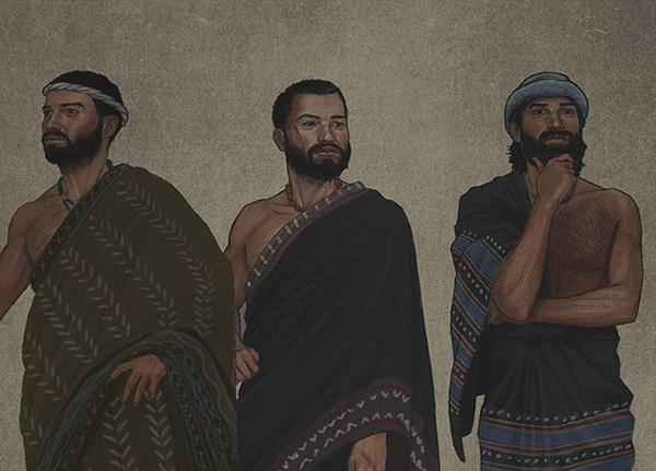 Sons of Noah: Shem, Ham, and Japheth   Ark Encounter