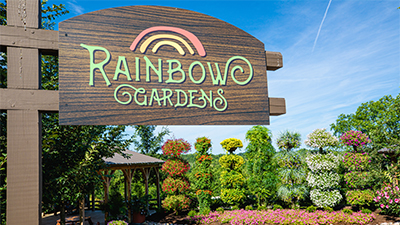 Take in the Sights of the Rainbow Gardens at the Ark Encounter