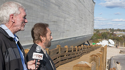 Ray Comfort Visits the Ark Encounter