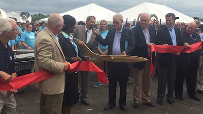Exclusive Ribbon-Cutting Ceremony