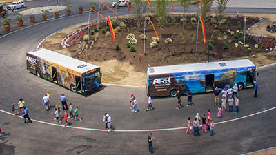 Shuttle Bus Rides at the Ark Encounter