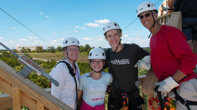 Reach New Heights and Speeds on the Zip Lines at the Ark Encounter