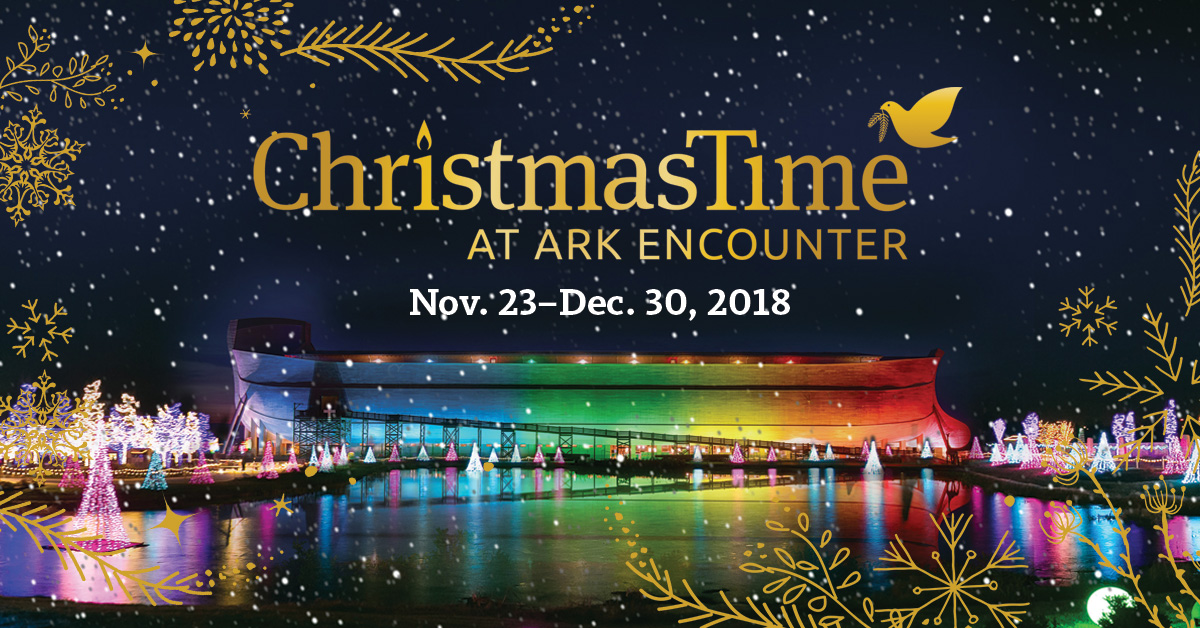 Christmas Time.Christmastime At The Ark Encounter Starts Friday Ark
