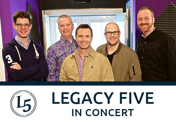 Legacy Five and Brad Stine