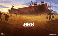 Ark Encounter Wallpaper Construction