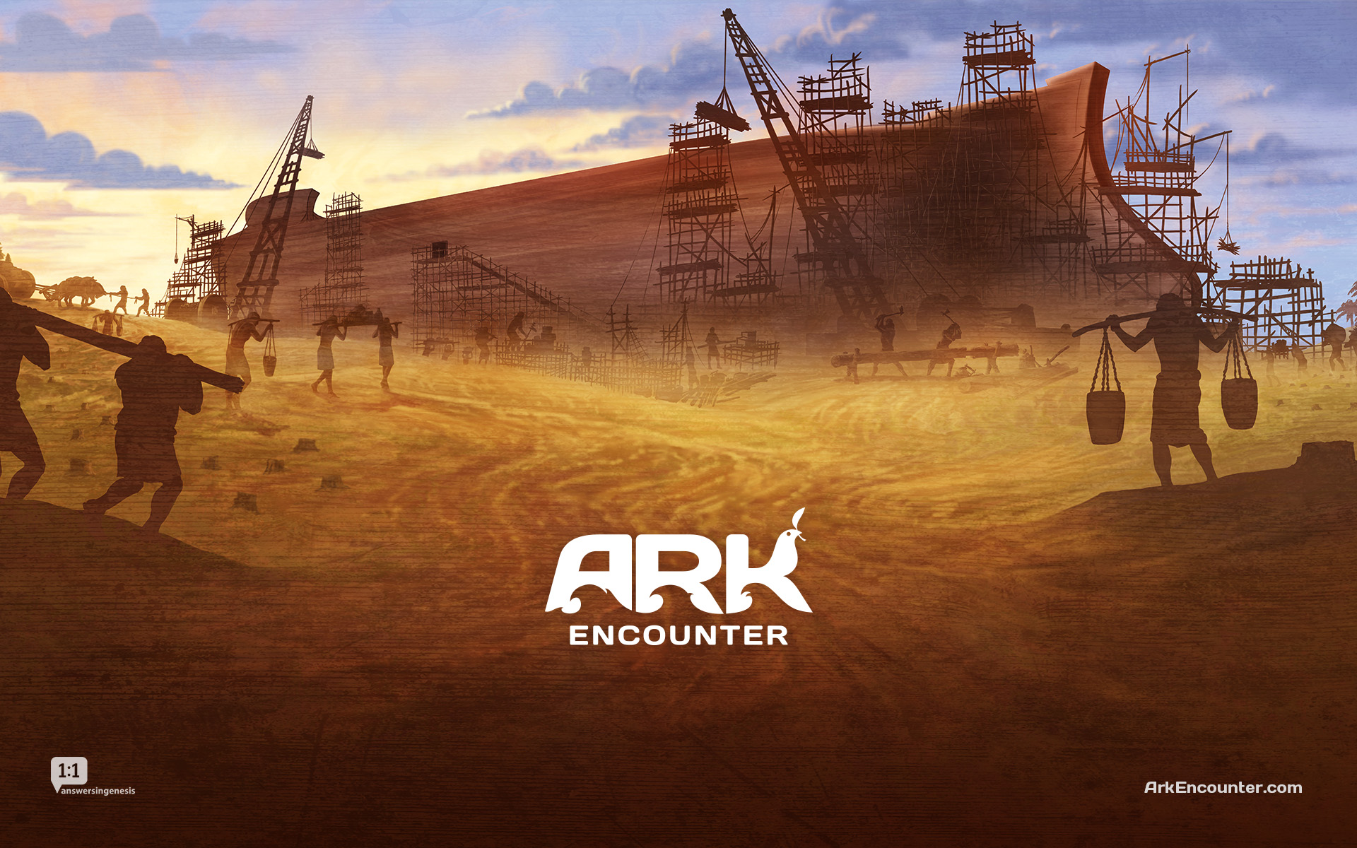Forthcoming faith-based attraction, the Ark Encounter