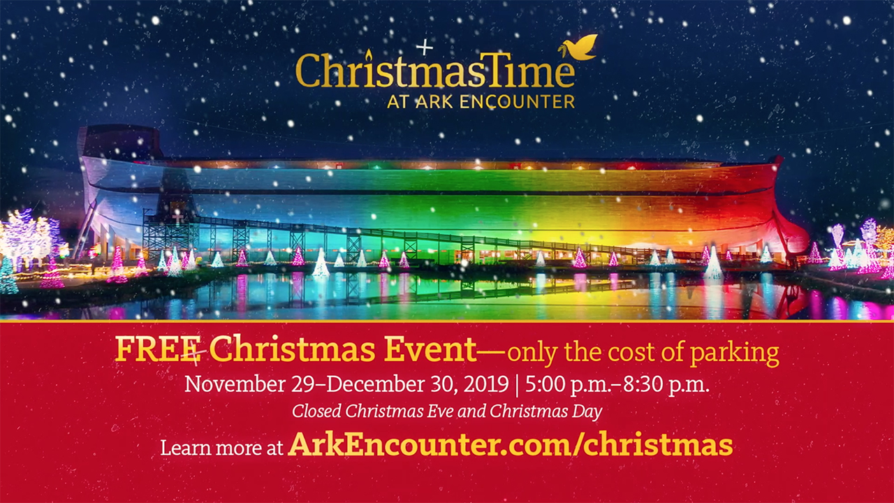 ChristmasTime at the Ark Encounter 2019