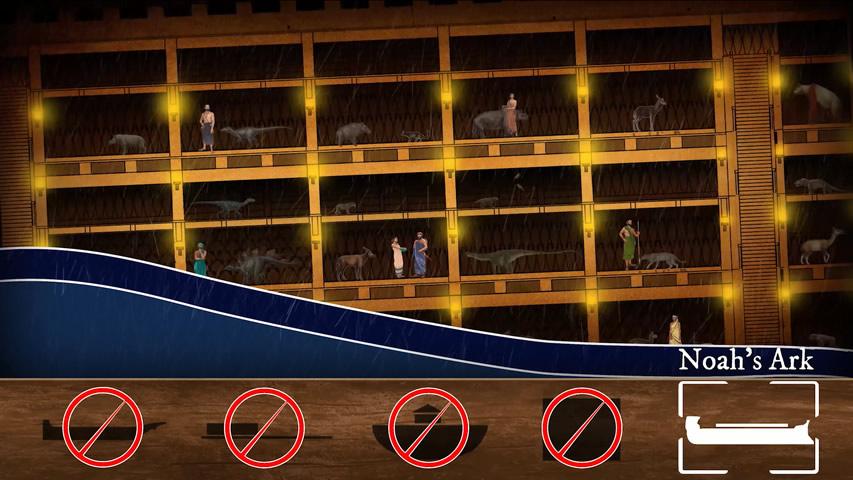 Sink or Swim? Noah's Ark Survived