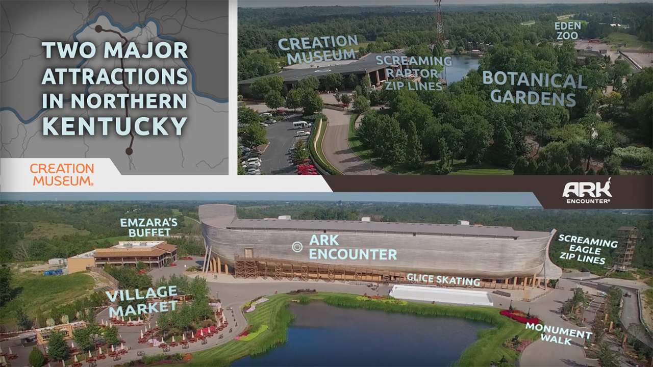 Ark Encounter & Creation Museum Promo Video