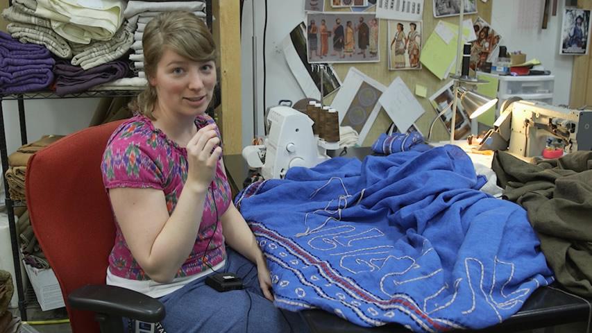Ark Encounter: Embroidering Noah's Garment