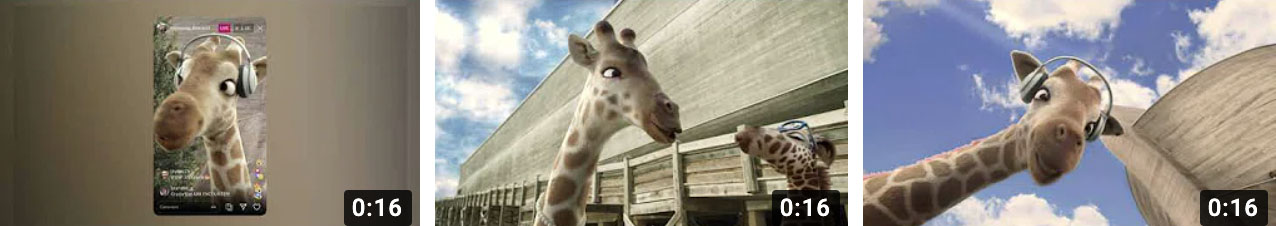 Watch the new giraffe ads
