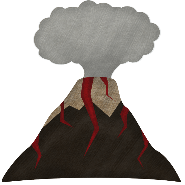 A Volcanic Mountain