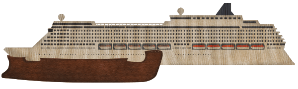 Ark and Cruise Ship