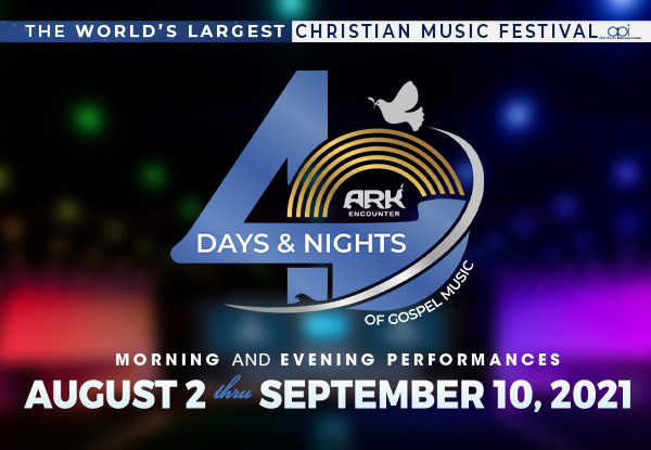 40 Days and 40 Nights of Gospel Music Coming to the Ark Encounte