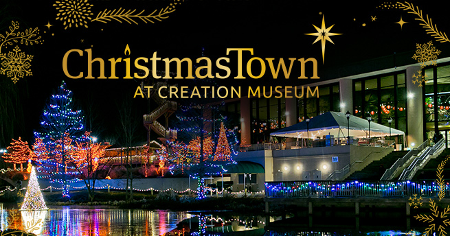 christmas event at our sister attraction - Giant Christmas Hours